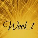 week 1 a