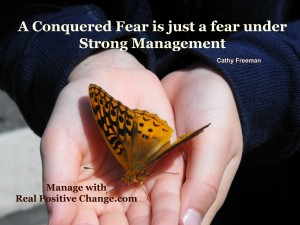 Manage fear a